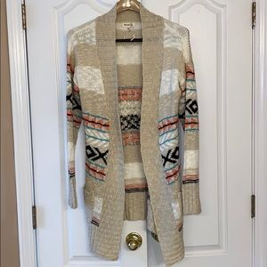Brand new tribal sweater